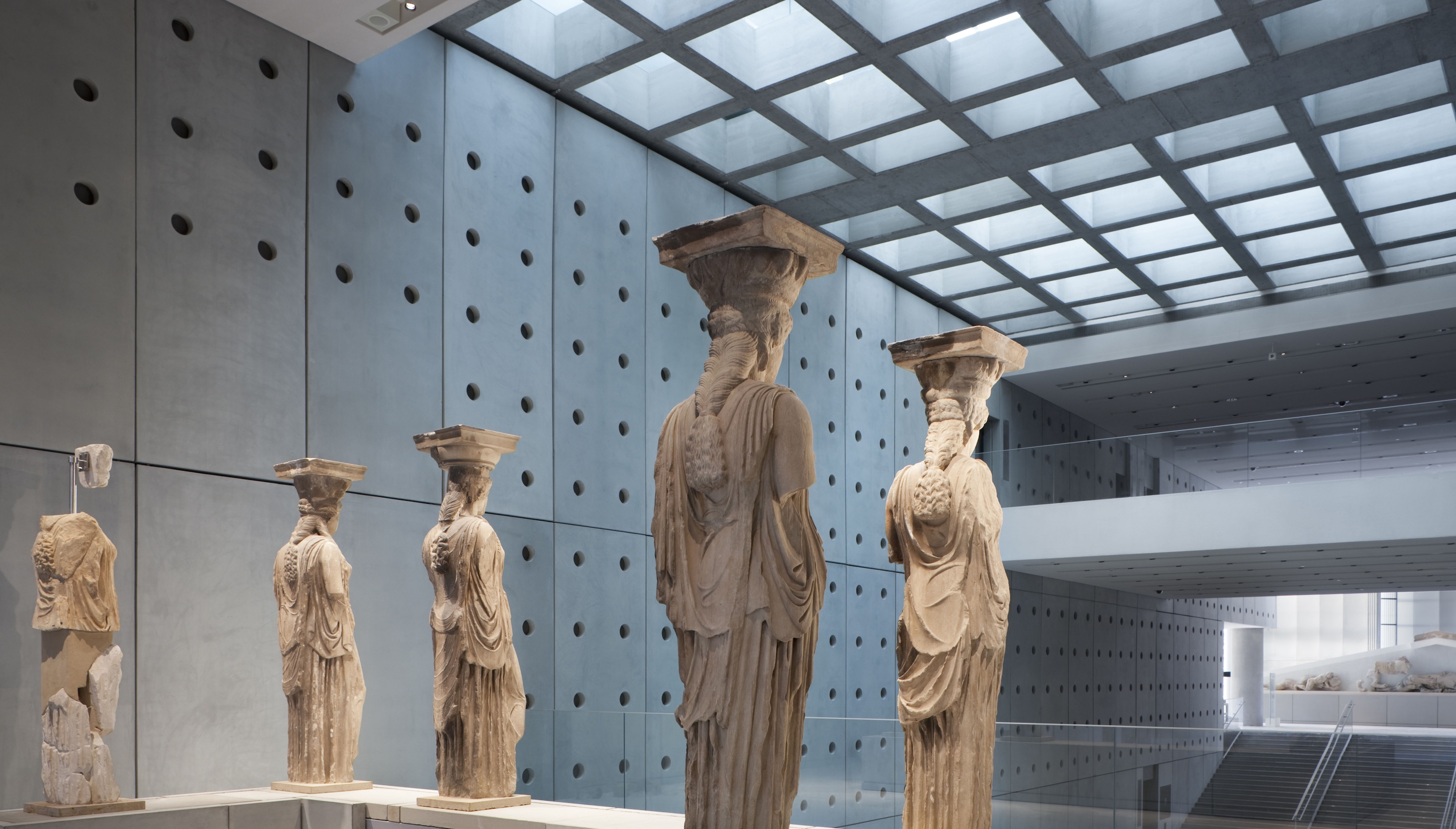 NEW ACROPOLIS MUSEUM – Athens GREECE  HDA