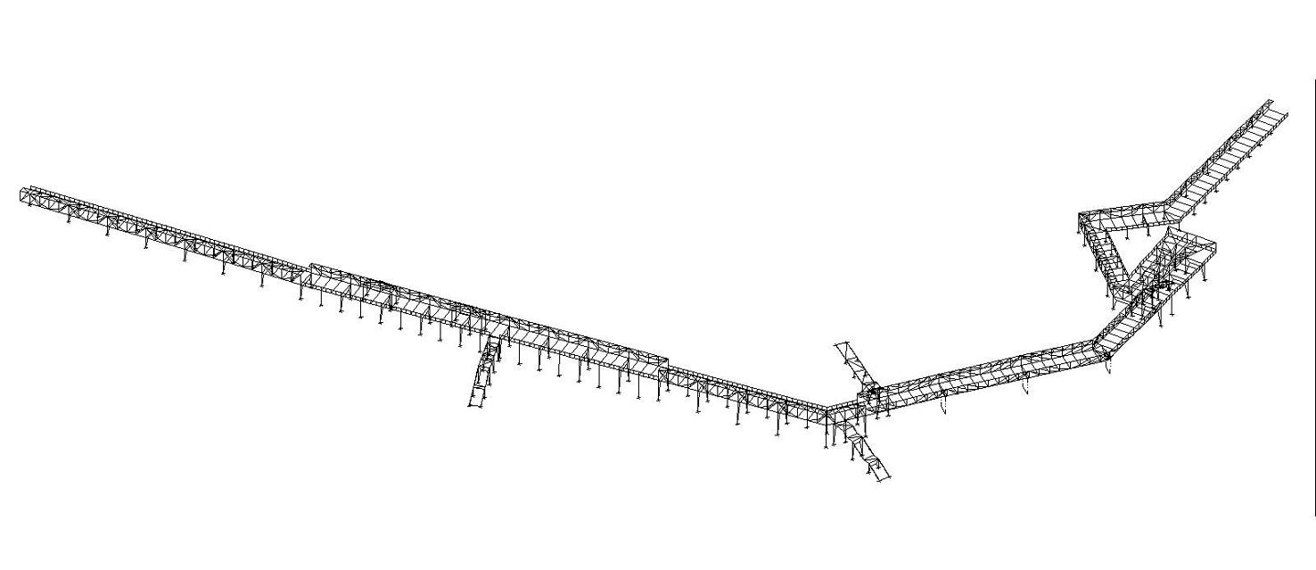 A86 footbridge rueil france hda for Hda design